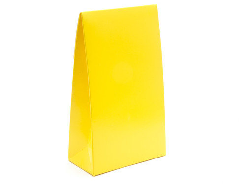 Large Sunshine Yellow A-Frame Carton | Meridian Speciality Packaging