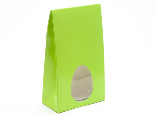 Large Easter Green A-Frame Ctn with Window | Meridian Speciality Packaging