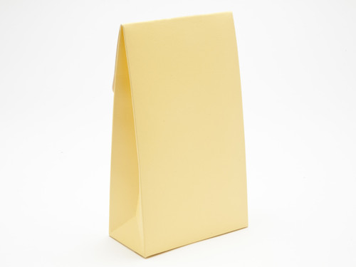 Large Buttermilk Yellow A-Frame Carton | Meridian Speciality Packaging