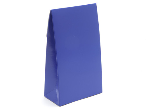 Large Blue A-Frame Carton | Meridian Speciality Packaging