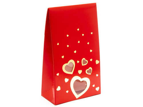Large Red Love A-Frame Carton | Meridian Speciality Packaging