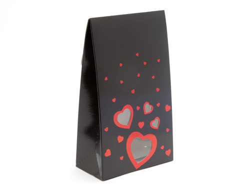 Large Black Love A-Frame Carton   Meridian Speciality Packaging
