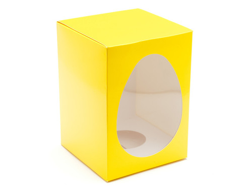 Lge Sunshine Yellow Easter Egg Ctn and Plinth | Meridian Speciality Packaging