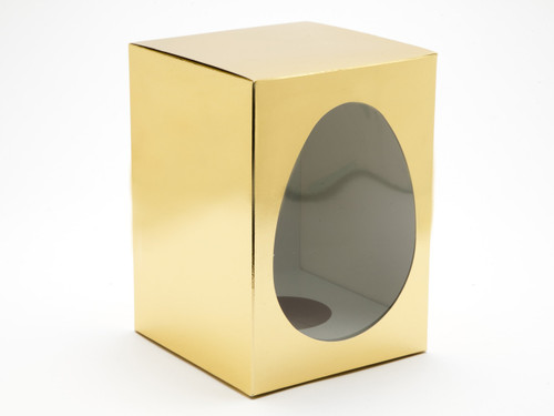 Large Br Gold Easter Egg Carton and Plinth | Meridian Speciality Packaging