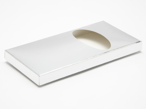 Choc Bar Carton - Bright Silver | Meridian Speciality Packaging