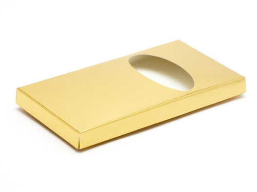 Choc Bar Carton - Bright Gold | Meridian Speciality Packaging