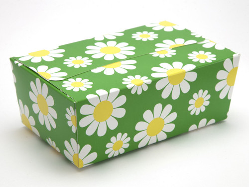 750g Ballotin - Daisy Floral | Meridian Speciality Packaging