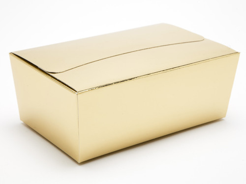 750g Ballotin - Bright Gold | Meridian Speciality Packaging