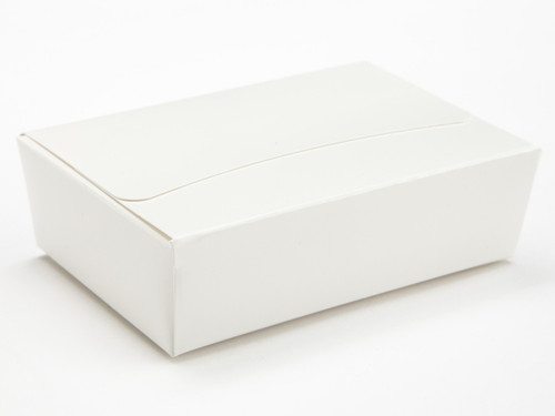 6 Choc Ballotin - White | Meridian Speciality Packaging