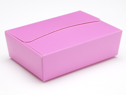 6 Choc Ballotin - Electric Pink   Meridian Speciality Packaging