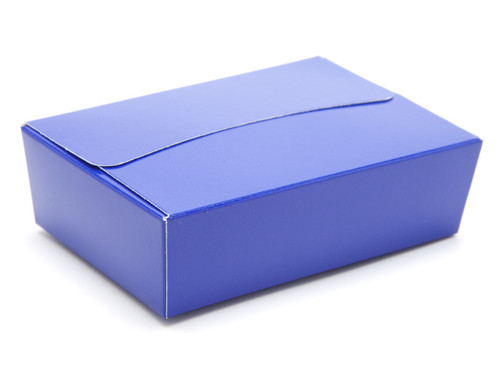 6 Choc Ballotin - Blue | Meridian Speciality Packaging