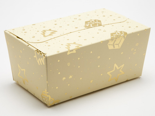 500g Trees and Presents Ballotin | Meridian Speciality Packaging