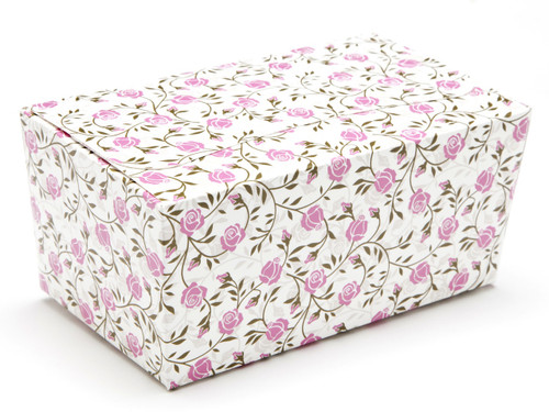500g Ballotin - Rose Floral | Meridian Speciality Packaging