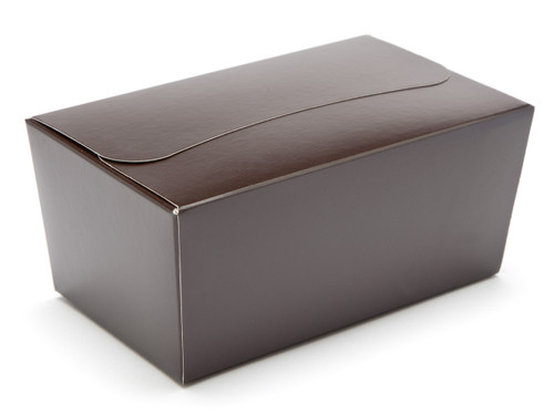 500g Ballotin - Chocolate Brown | Meridian Speciality Packaging