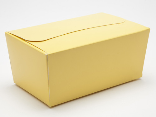 500g Ballotin - Buttermilk Yellow | Meridian Speciality Packaging