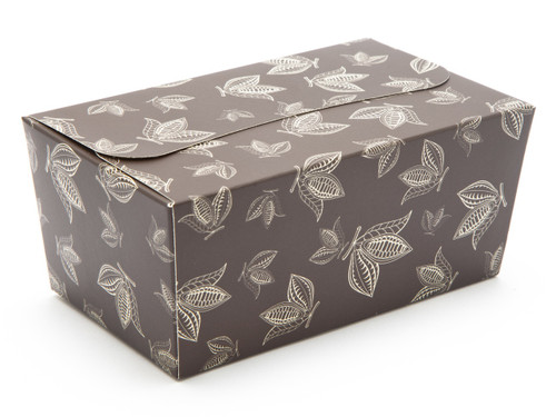 500g Ballotin - Brown Cocoa Pod | Meridian Speciality Packaging