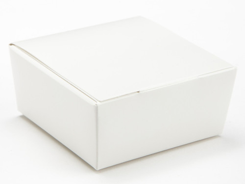 4 Choc Ballotin - White | Meridian Speciality Packaging
