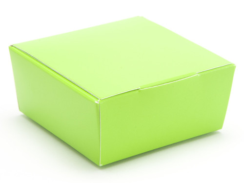 4 Choc Ballotin - Vibrant Green | Meridian Speciality Packaging