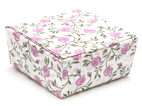 4 Choc Ballotin - Rose Floral   Meridian Speciality Packaging