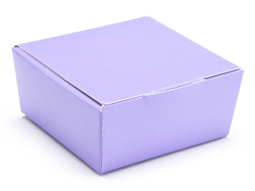 4 Choc Ballotin - Lilac | Meridian Speciality Packaging