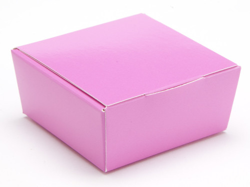 4 Choc Ballotin - Electric Pink   Meridian Speciality Packaging