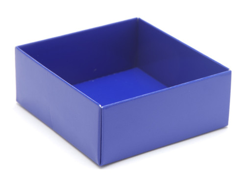 4 Choc Base - Blue [BASE ONLY] | Meridian Speciality Packaging