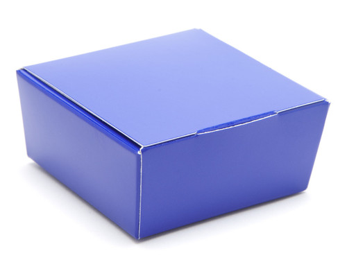 4 Choc Ballotin - Blue   Meridian Speciality Packaging