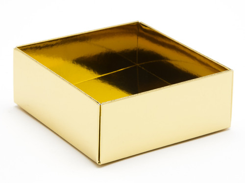 4 Choc Base - Bright Gold [BASE ONLY]   Meridian Speciality Packaging