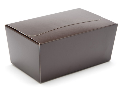 375g Ballotin - Chocolate Brown   Meridian Speciality Packaging