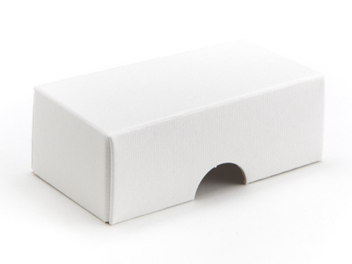 2 Choc Wibalin Lid - White | Meridian Speciality Packaging