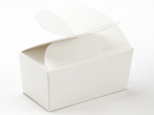2 Choc White Butterfly Ballotin | Meridian Speciality Packaging