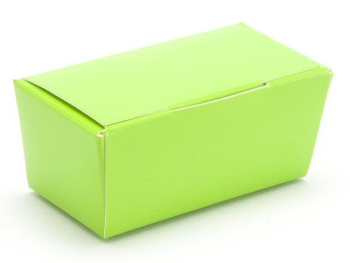 2 Choc Ballotin - Vibrant Green | Meridian Speciality Packaging