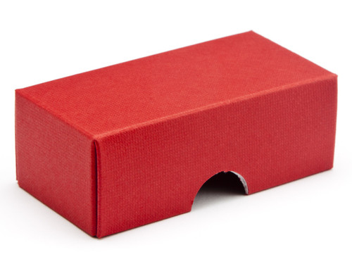 2 Choc Wibalin Lid - Red [LID ONLY] | Meridian Speciality Packaging