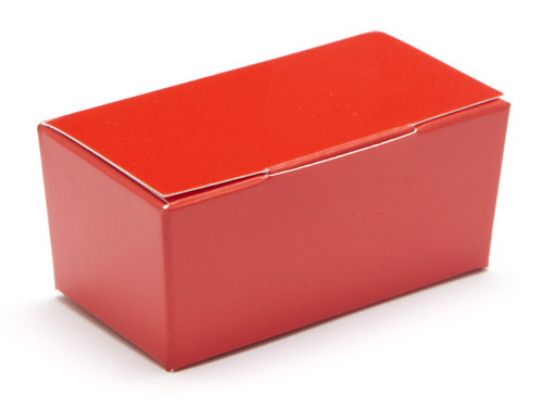 2 Choc Ballotin - Red | Meridian Speciality Packaging