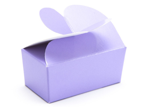 2 Choc Lilac Butterfly Ballotin | Meridian Speciality Packaging