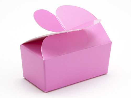 2 Choc Electric Pink Butterfly Ballotin | Meridian Speciality Packaging