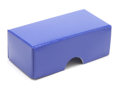 2 Choc Lid - Blue [LID ONLY] | Meridian Speciality Packaging