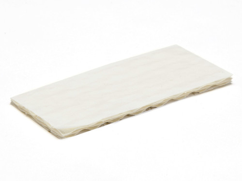 2 Choc Cushion Pad - White | Meridian Speciality Packaging