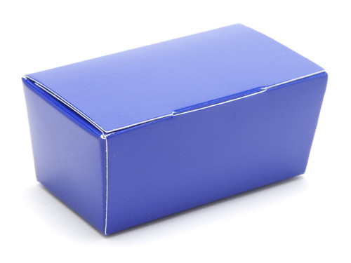 2 Choc Ballotin - Blue | Meridian Speciality Packaging
