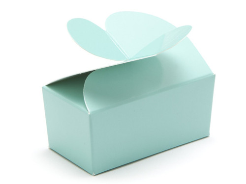 2 Choc Aqua Butterfly Ballotin | Meridian Speciality Packaging