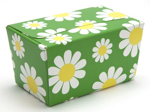 250g Ballotin - Daisy Floral | Meridian Speciality Packaging