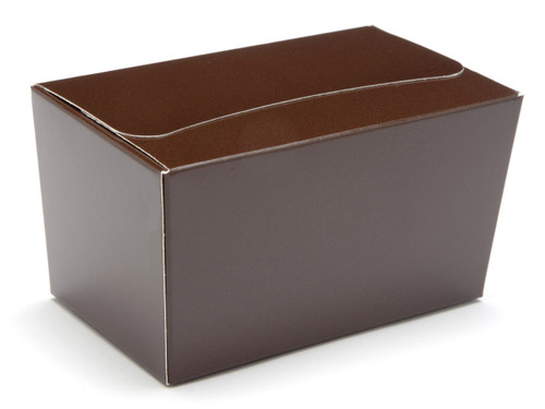250g Ballotin - Chocolate Brown | Meridian Speciality Packaging
