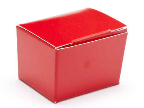 1 Choc Ballotin - Red | Meridian Speciality Packaging