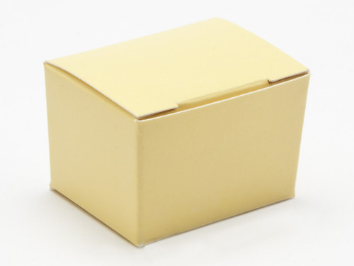1 Choc Ballotin - Buttermilk Yellow | Meridian Speciality Packaging