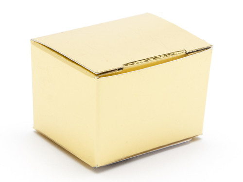 1 Choc Ballotin - Bright Gold | Meridian Speciality Packaging