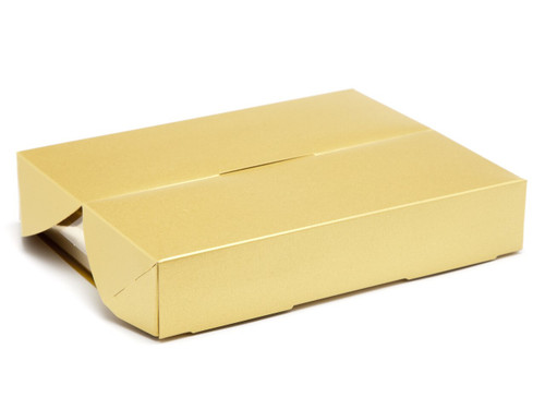 12 Choc Speciality Gift Box - Antique Gold | Meridian Speciality Packaging