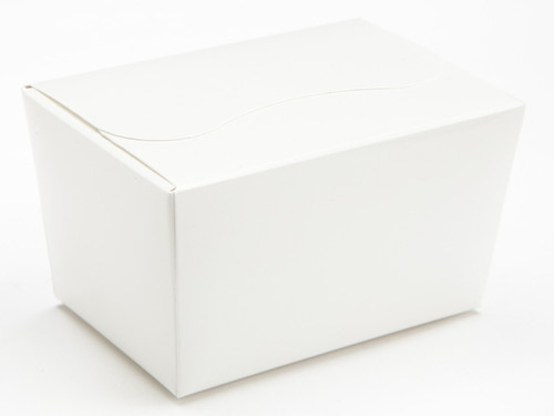 125g Ballotin - White | Meridian Speciality Packaging