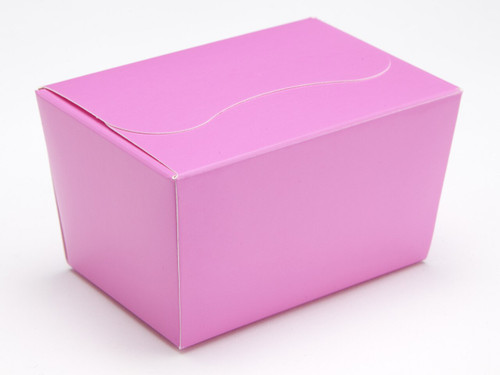 125g Ballotin - Electric Pink | Meridian Speciality Packaging
