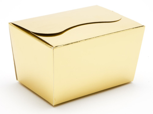 125g Ballotin - Bright Gold   Meridian Speciality Packaging