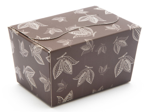 125g Ballotin - Brown Cocoa Pod   Meridian Speciality Packaging